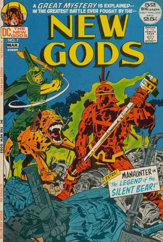New Gods, The (1st series) #7 FN; DC | save on shipping - details inside