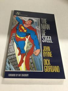 The Man Of Steel Nm Near Mint DC Comics SC TPB