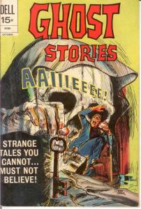 GHOST STORIES (1962-1973) 34 F-VF Oct. 1972 COMICS BOOK