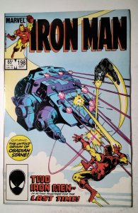 Iron Man #198 (1985) Marvel Comic Book J757