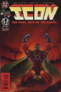 Icon #36 VG; DC/Milestone | low grade comic - save on shipping - details inside