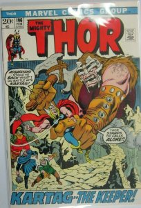 The Mighty Thor #196 - 5.0 VG/FN - 1972