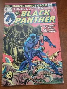 JUNGLE ACTION #10  BLACK PANTHER featured