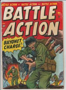 Battle Action #1 (Feb-52) VG+ Affordable-Grade