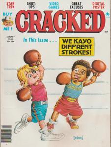 CRACKED #184 - HUMOR COMIC MAGAZINE