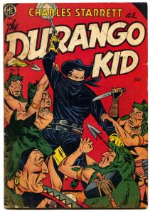 Durango Kid #8 1950-Frazetta- Golden Age Western VG