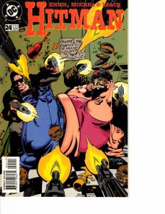 Lot Of 3 Hitman DC Comic Book #24 25 26   AB3