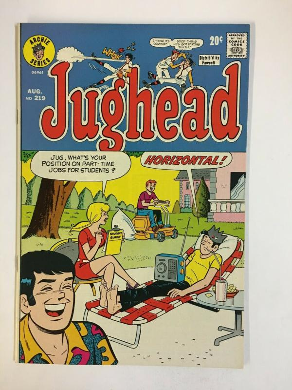 JUGHEAD (1949-1987)219 VF-NM Aug 1973 COMICS BOOK