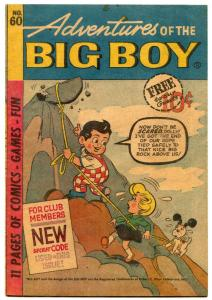 Adventures Of The Big Boy #60 1961- Michigan edition FN