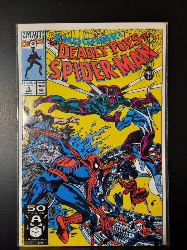 Deadly Foes of Spider-Man #4 (1991)VF