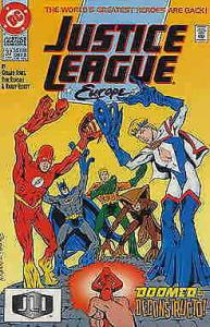 Justice League Europe #37 VF/NM; DC | save on shipping - details inside