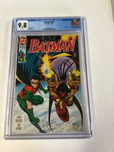 Batman 488 Cgc 9.8 White Pages dc Comics