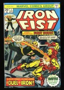 Iron Fist #1 FN/VF 7.0