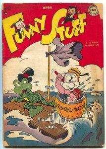Funny Stuff #32 1948- DODO & FROG- Dc comics G/VG