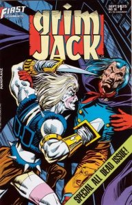 Grimjack #38, NM- (Stock photo)