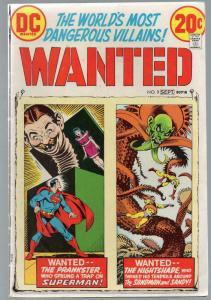 WANTED (1972)  9 VG Sept 1973 Sandman/ Nightshade