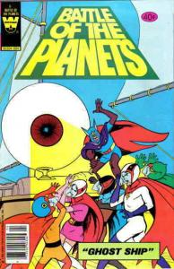 Battle of the Planets #6 GD; Gold Key | low grade comic - save on shipping - det