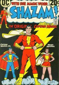 Shazam! (1973 series) #3, Fine+ (Stock photo)