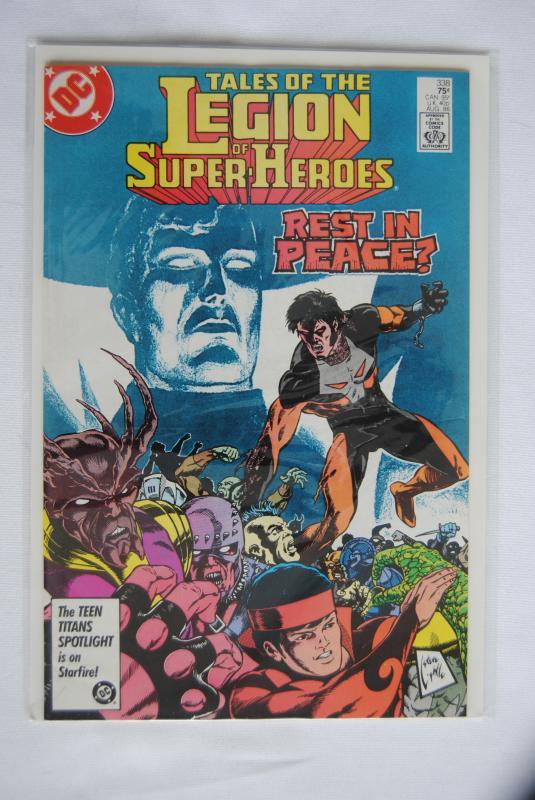 Legion of Super-Heroes 338