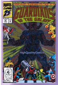 GUARDIANS of the GALAXY 25, NM+, Silver Surfer, Galactus, 1990, more in store