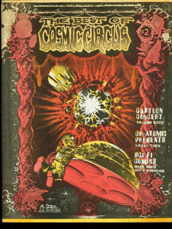 BEST OF COSMIC CIRCUS #1-1978-VAUGHN BODE-MARK BODE FN/VF
