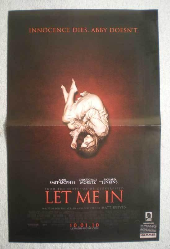 LET ME IN Promo Poster, Vampire, 11x17, 2010, Unused, more Promos in store