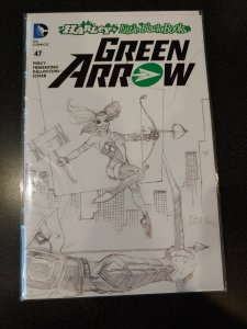 Green Arrow #47 Harley's Little Black Book​ VARIANT NM