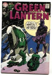 Green Lantern #68 comic book 1969- DC Silver Age FN+