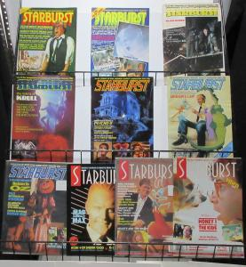 Starburst Lot of 10Diff from #33-139 Cinema + TV Fantasy Magazine by Marvel UK!