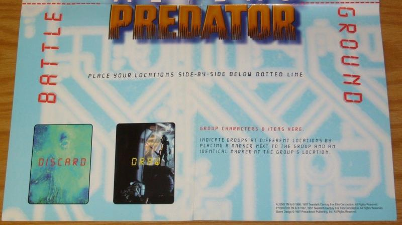 Aliens/Predator poster - promotion for customizable card game 1997