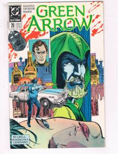 Green Arrow #20 VF DC Comics Arrow TV Show Comic Book Grell DE21