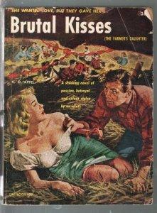 Uni-Book #29 1952-Brutal Kisses-Appel-stockings & headlight cover-G/VG