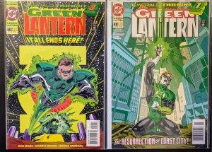 Green Lantern #48 and #50 (1994) NM+