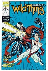 Wild Thing (UK) #2 (1993) Venom Carnage Sider-Man NM