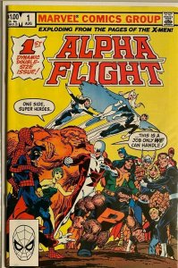 Alpha flight #1DIR 8.0 VF (1983)