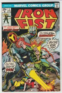 Iron Fist #3 (Feb-76) NM- High-Grade Iron Fist