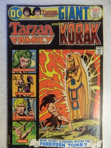 TARZAN FAMILY PRESENTS KORAK # 60 DC BRONZE JUNGLE ACTION KUBERT BURROUGHS