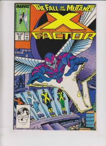 X-Factor #24 VF/NM walter simonson 1ST ARCHANGEL early apocalypse - fall mutants