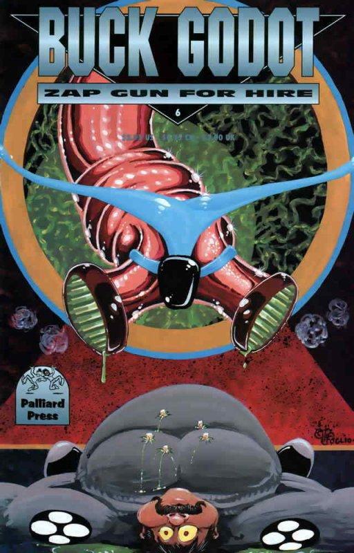 Buck Godot, Zap Gun For Hire #6 VF; Palliard | save on shipping - details inside