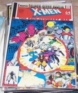 UNCANNY X-Men Annual #12 (1988, Marvel) WOLVERINE X BABIES EVOLUTIONARY WAR