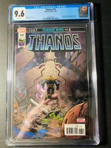 Thanos 13 1st Print - CGC 9.6 - First App of Cosmic Ghost Rider - NM+