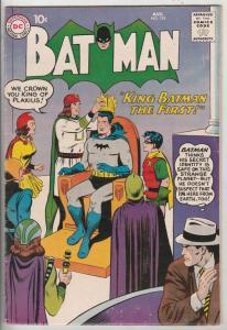 Batman #125 (Aug-59) FN+ Mid-High-Grade Batman
