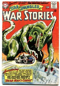 STAR SPANGLED WAR STORIES #116-DINOSAUR ISSUE-CLASSIC DC--WW II VG.