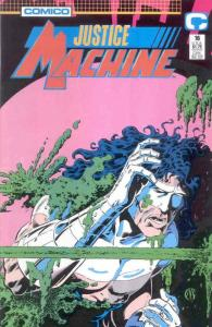 Justice Machine (Comico) #16 VF/NM; COMICO | save on shipping - details inside
