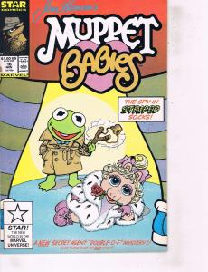 Lot Of 2 Marvel Comics Book Muppet Babies #16 and Alpha Flight #63 ON1