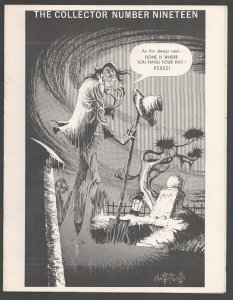 Collector #19 1970-Horror cover by John Fantucchio-Avenger from Magazine Ente...