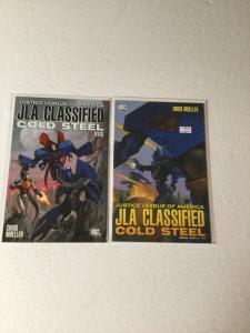 Jla Classified Justice League Of America Cold Steel 1 2 1-2 Nm Near Mint Ik