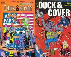 DUCK & COVER (1988 CATHEAD) 1-2  complete!