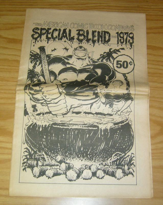 American Comic Book Company's Special Blend For 1979 VG rich larson cover