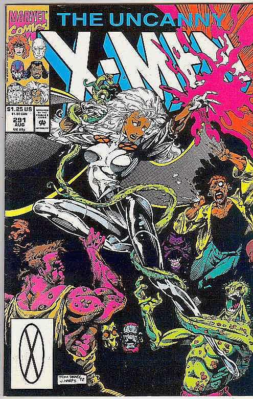 X-Men #291 (Aug-92) NM- High-Grade X-Men